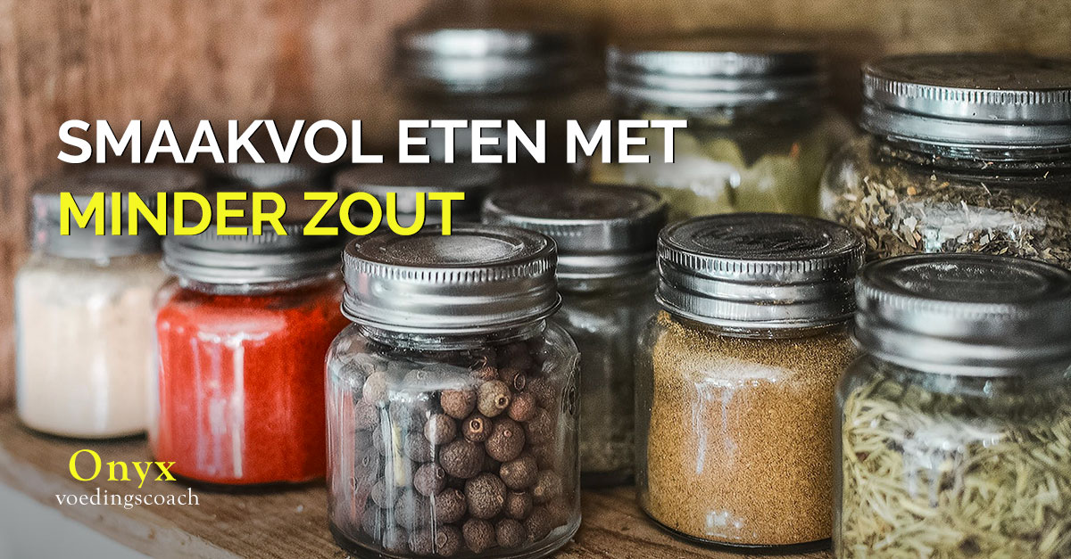 minder zout eten - Onyx Voedingscoach